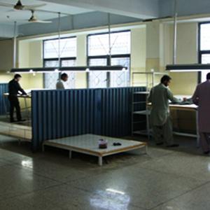 Waxing & Ironing Department
